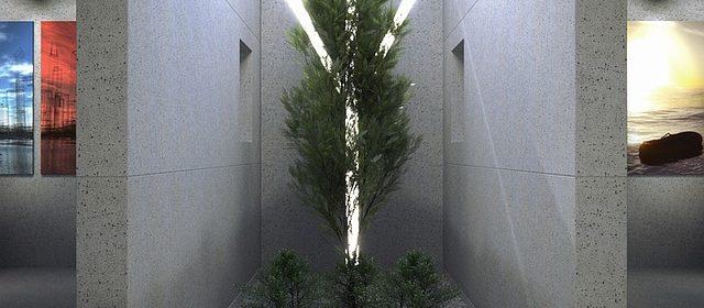 Dekoracyjne ściany betonowe
